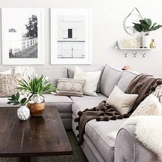 Light, elegant, modern living room decor ideas