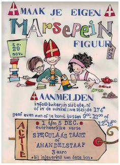 "Sinterklaasactie Bakkery Institute, ""maak je eigen marsepeinfiguur"", zaterdag 29 november 2014, Zaandam."