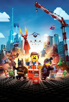 Textless Movie Posters – An awesome collection of movie posters without the texts (The Lego Movie)