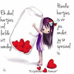 Hartjies vol liefde vir vandag 16th Birthday Wishes, Happy Birthday Greetings, Birthday Quotes, Good Morning Wishes, Good Morning Quotes, Morning Blessings, Cute Quotes, Happy Quotes, Lekker Dag