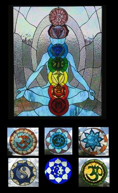 glass art | Stained glass Art Gallery - The Chakras