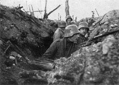 Im vordersten Kampfgraben vor Verdun