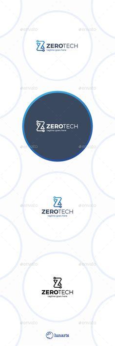 Zero Technology Logo • Letter Z — Vector EPS #information #technology • Available here → https://graphicriver.net/item/zero-technology-logo-letter-z/11547591?ref=pxcr