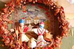 Russian tapestry Tapestry, Wreaths, Fall, Home Decor, Hanging Tapestry, Autumn, Tapestries, Decoration Home, Door Wreaths