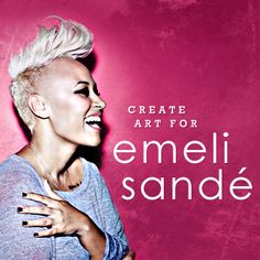 Create Commemorative Art for Emeli Sandé on CreativeAllies.com