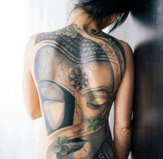 what do buddhist tattoos mean ? if you have strong belief in Buddhist Philosophy Traditional Tattoos and powerful Symbol for the The buddhist tattoos #tattoos #buddhist #girls