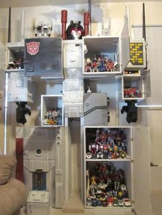 Metroplex as a cupboard!! Awesome!