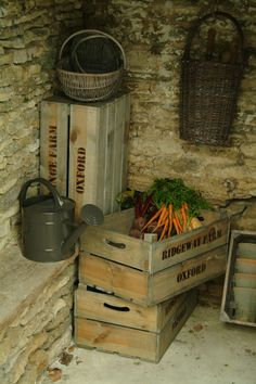 Storage can be both highly original and have a traditional, vintage touch. This traditional fruit box provides an effective and rustic solution for storage. Shelve those ugly plastic packing crates and display these fruit boxes instead. Perfect for storing vegetables or recipe books in the kitchen, garden tools and accessories in the shed or personal items in the cellar.  Expect to Pay: £23.50