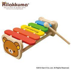 Rilakkuma baby piano