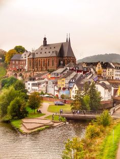 Saarburg (Germany) by Yuri Borodianski