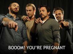 Boom! You're pregnant