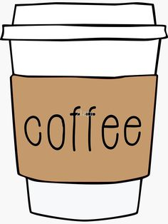 by chris jackson. To Go Coffee Cups, Coffee Cup Art, Coffee Milk, Coffee Beans, Coffee Shop, Coffee Hair, Coffee Cup Drawing, Starbucks, Coffee Enema