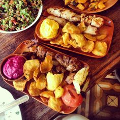 Lebanese food deliciousness