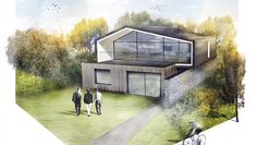 Modern Home Contemporary House Winchester Hampshire Architecture
