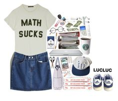 """""""Math Sucks"""" by ritaflagy ❤ liked on Polyvore featuring Wildfox, Forever 21, Christian Dior, This Works and Kristin Cavallari"""