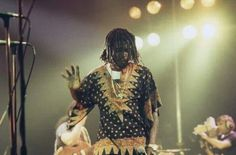 *Peter Tosh* 1980. More fantastic pictures and videos of *The Wailers* on: https://de.pinterest.com/ReggaeHeart/ ©Mike Prior/ gettyimages.de