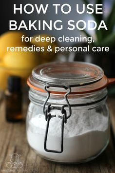 Baking soda is non-toxic, cheap and it WORKS. Here are 22 baking soda uses for cleaning, personal care and home remedies.