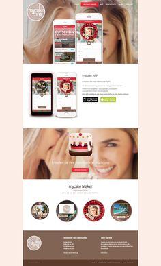 Gestalte deine eigene Torte nach Wunsch in  nur ein paar wenigen Schritten - die mycake.tirol - App macht es möglich!