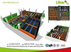 China High Quality Customized Trampoline Park Design