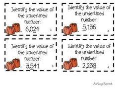 October Math Stations by Ashley Benoit -The Teacher's Treasure Chest | Teachers Pay Teachers