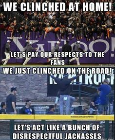 #SFGiants We keep it classy!