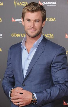 We rounded up the hottest Chris Hemsworth red carpet moments so you can spend part of your Saturday oogling this sexy star.