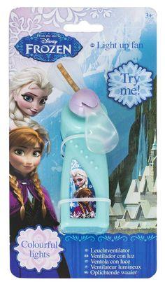 Disney Frozen Elsa & Anna Light Up Hand Held Fan in Toys & Games, TV & Film Character Toys, Film & Disney Characters | eBay