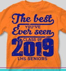 Senior Class Shirts: The Best You've Ever Seen Class of 2019 - Senior Class T-shirt Design - IZA Design Beckham Jr, Senior Sweatshirts, Hooded Sweatshirts, Senior Class Shirts, Cool Slogans, Big Letters, New Champion, Graduation Celebration, Got Quotes