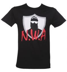 If you know your #gangsta #rap, this N.W.A tee might just be heading to the top of your wish-list. Featuring the logo for the US hip-hop band whose members included, Dr Dre, DJ Yella and Eazy-E and paying homage to the debut album Straight Outta Compton, we reckon it's gonna be a big hit! xoxo #NWA
