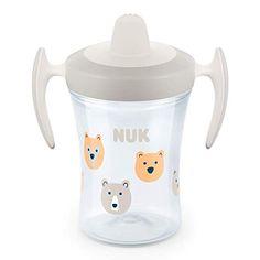 grau B/är NUK Magic Cup Trinklernbecher 2er-Vorteilspack 360/° Trinkrand 230 ml 8+ Monate BPA-frei auslaufsicher abdichtende Silikonscheibe