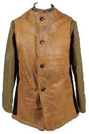 Vintage 1930s Leather Horsehide Ats Jerkin Waistcoat Vest