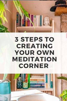 Three Steps to Creating Your Own Meditation Corner For Business Growth and Self-Care Meditation Corner, Meditation Pillow, Easy Meditation, Meditation For Beginners, Meditation Benefits, Meditation Techniques, Meditation Space, Meditation Practices, Spiritual Practices