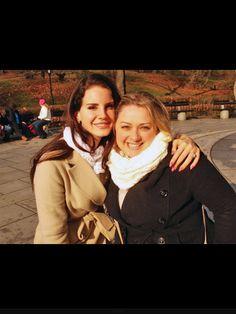 Lana with a Fan