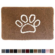 Gorilla Grip Original Indoor Durable Chenille Doormat *** Check this awesome product by going to the link at the image.-It is an affiliate link to Amazon. Front Door Rugs, Sweet Home Collection, Doormats, Back Doors, Image Link, Plush, Indoor, Amazon, Awesome