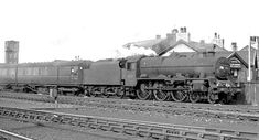 BR London Midland Region 1950s DAUNTLESS 45717 Articulated coaches Steam Railway, British Rail, Steam Engine, Steam Locomotive, Carlisle, 1950s, Ocean, Community, London