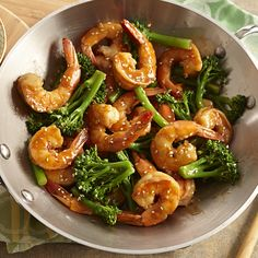 Broccolini is similar to broccoli but with longer stems and smaller florets. If unavailable, broccoli or asparagus works equally as well in this stir-fry.