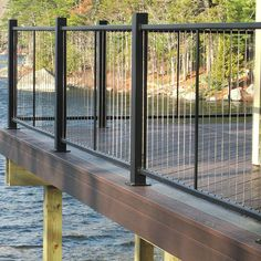 The Fortress Vertical Cable Railing System is easy to assemble and ...