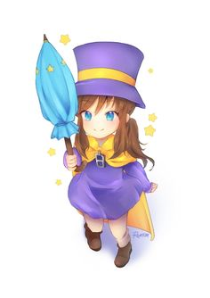 Cute Games, Funny Games, Character Art, Character Design, A Hat In Time, World Of Gumball, Indie Games, Time Art, Girl With Hat