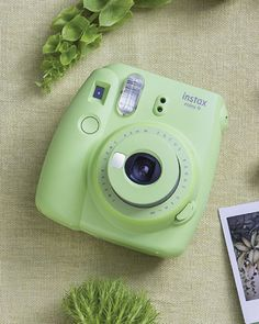 11 Best Gifts for Her Who Has Everything - Instax Camera - ideas of Instax Camera. Trending Instax Camera for sales. - Fujifilm Instax Mini 9 Instant Camera in Lime Green. Gifts For Her Who Has Everything. Mothers Day gifts for mom who has everything. Mint Green Aesthetic, Aesthetic Colors, Aesthetic Pictures, Mode Poster, Dslr Photography Tips, Free Photography, Photography Equipment, Best Gifts For Her, Green Theme