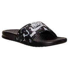 b2363a6af672 Women s Nike Benassi JDI Print Slide Sandals
