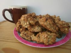 Eggless Chewy Oat Cookies - Healthy Kids Snack--need to test these with some substitutions as possibility for Taylor!!