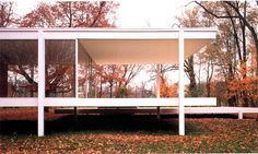 more of that Mies van der Rohe house