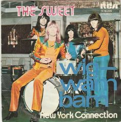 The Sweet-Glam Rock Band