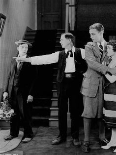 Joe with Buster in Daydreams publicity photo 1922