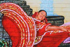 Mexican Mural in Pilsen, Chicago