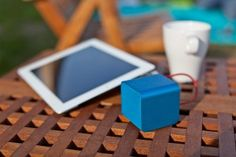 NuForce Cube Speakers; Tiny Companion for Portable Devices