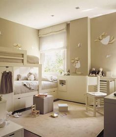 Baby room inspiration who knows? Small Room Bedroom, Baby Bedroom, Kids Bedroom, Baby Decor, Girl Room, Interior Design Living Room, Room Inspiration, Room Decor, Decoration
