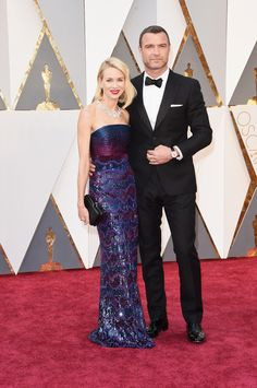 Naomi Watts in Armani Prive & Bulgari Jewels - Fashion at Oscars 2016