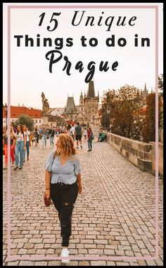 15 Unique Things to Do in Prague Beyond the Highlights in Prague 15 Unusual Activities in Prague See More than the Tourist Traps in Prague 15 Out of the Ordinary Thin. Europe Travel Tips, European Travel, Travel Guides, Travel Destinations, Europe Packing, European Vacation, Backpacking Europe, Packing Lists, Travel Hacks