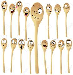 ideas para hacer con cucharas de madera con chicos - Buscar con Google